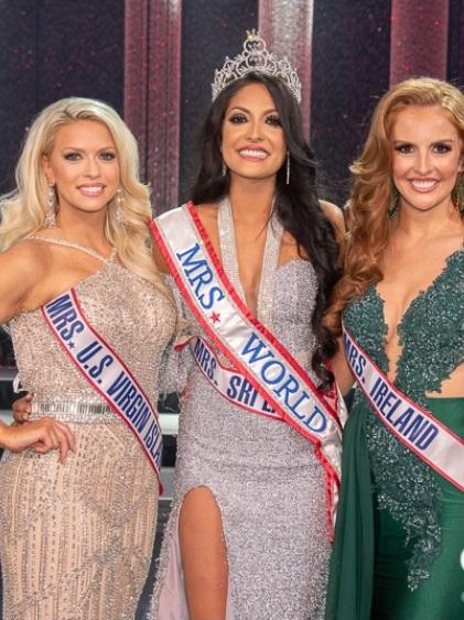Caroline Jurie brings back the Mrs.World crown to Sri